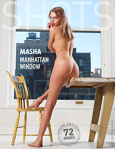Masha Manhattan window