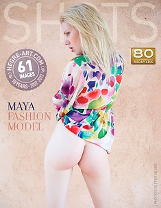Maya modelo de moda