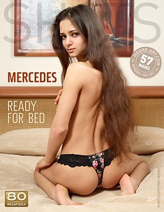 Mercedes ready for bed