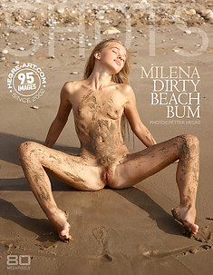 Milena dirty beach bum
