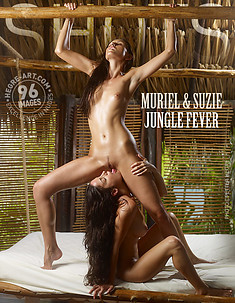 Muriel and Suzie jungle fever