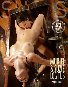 Muriel and Suzie log tub Part2