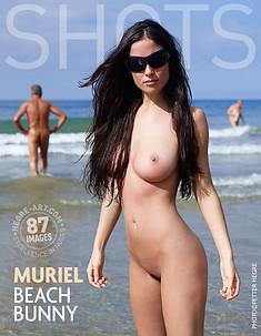 Muriel lapine de plage