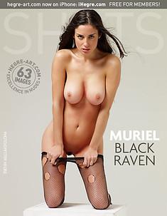 Muriel schwarzer Raabe