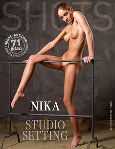 Nika en el estudio