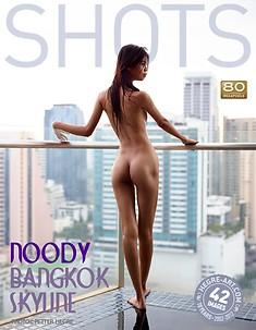 Noody horizonte de Bangkok