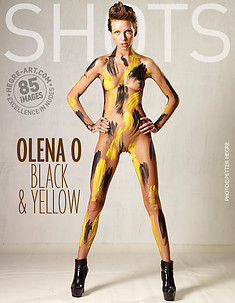Olena O black and yellow
