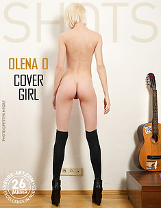 Olena O cover girl