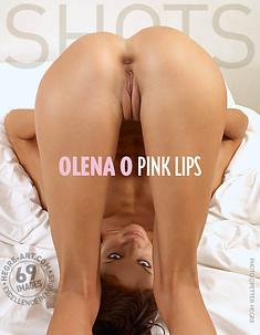 Olena O pink lips