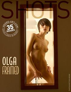 Olga eingerahmt