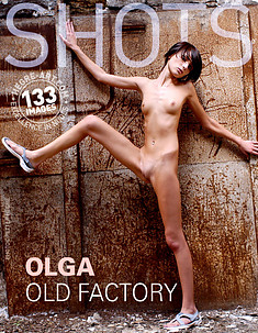 Olga in old factory