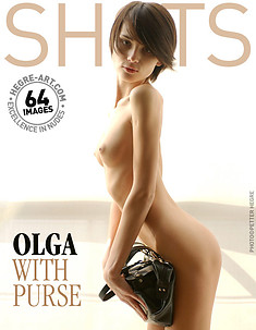 Olga with purse