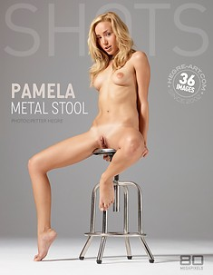 Pamela metal stool