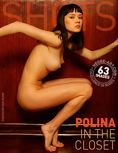 Polina in the closet