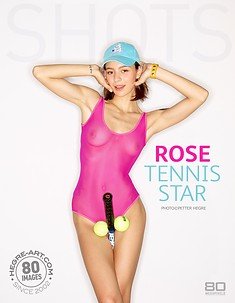 Rose star du tenis