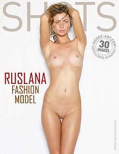 ルスラナ ファッションモデル