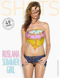Ruslana summer girl
