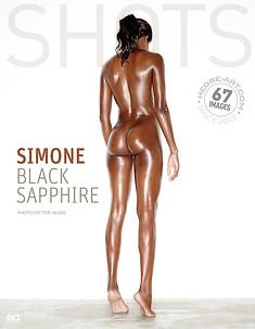 Simone black Sapphire