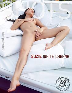 Suzie weiße Cabana