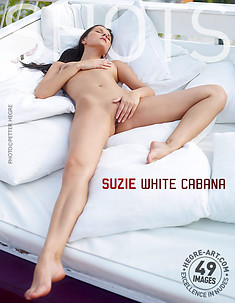 Suzie cabaña blanca