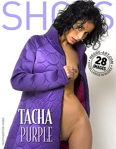 タシャ 紫
