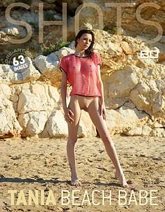 Tania nana à la plage