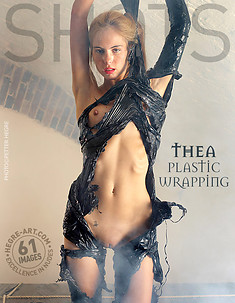 Thea plastic wrapping
