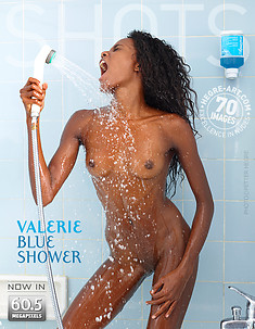 Valerie blue shower