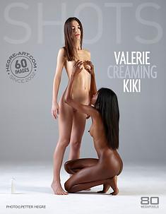 Valerie cremt Kiki ein