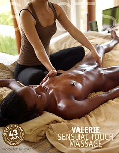 Valerie sensual touch massage