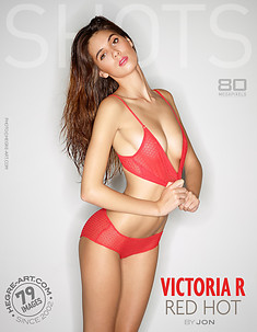 Victoria R red hot by Jon