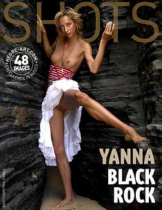 Yanna schwarzer Fels