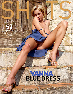 Yanna blue dress