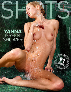 Yanna green shower