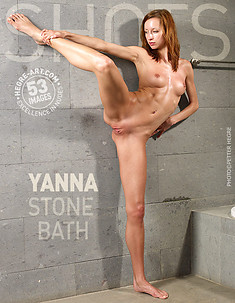 Yanna baño de piedra