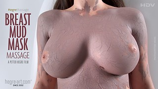 Breast Mud Mask Massage