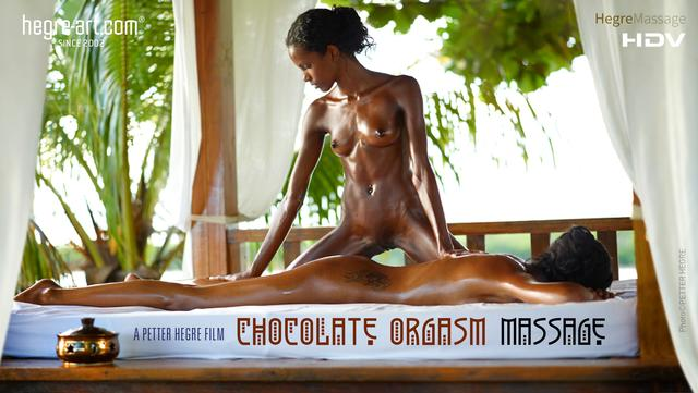 Chocolate Orgasm Massage