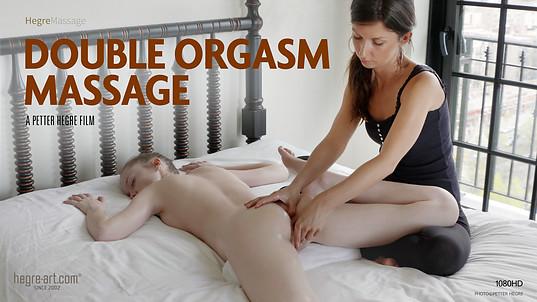 Doppelorgasmus-Massage