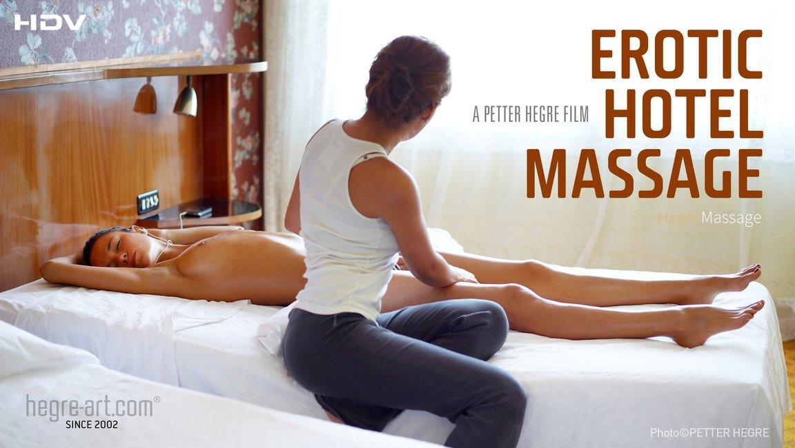 Erotische Hotelmassage