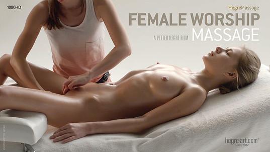 Massage zur Verehrung des Weiblichen