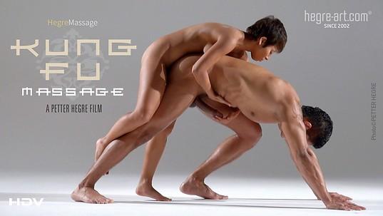 Masaje Kung Fu
