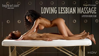 Massage Lesbien d'Amour