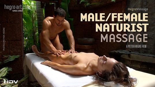 Male Female Naturist Massage
