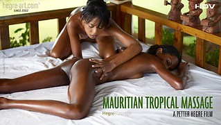 Massage mauricien tropical