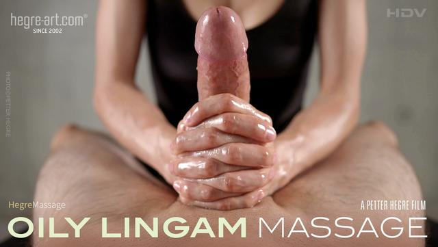 Oily Lingam Massage