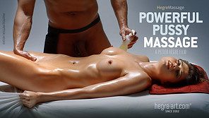 Powerful Pussy Massage