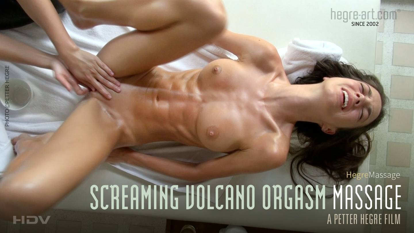 Screaming Volcano Orgasm Massage