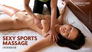 Sexy Sports Massage