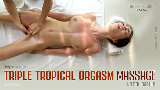 Masaje del triple orgasmo tropical