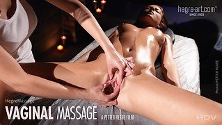 Massage vaginal